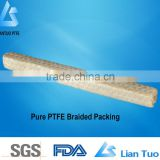 factory price heat resistance material ptfe packing, teflon gland packing, ptfe gland packing