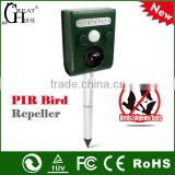 Hot selling products pest control sonic solar animal repeller and bird repeller GH-191B