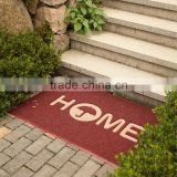 Outdoor extruded loop PVC cricket mats printed logo coil mat plastic