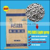 manufacturer of Energy-saving led lamp cover material Flame retardant PC/ABS plastic granules