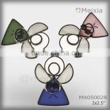 MX050028 tiffany style stained glass angel wall hanging for christmas ornament wholesale