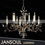 JANSOUL globe high handmade north american chandelier tree oil rub bronze lights