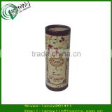 Full corlor glass bottles cosmetic packaging tube paper round cardboard box, cosmetics glass bottle packaging tube