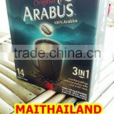 ARABICA ORIGINAL Bulk instant coffee mix 3 in 1 (20g X 14Sachet/Box)