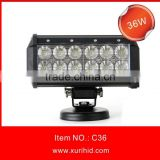 China Factory!!! Wholesale 108W LED DRIVING LIGHT BAR Spot Flood Beam 36pcsx 3W LED Light Bar for JEEP TRUCK 4X4 LED Lights