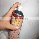 Removable liquid 450ML MSDS car aerosol rubber plastic dip spray paint