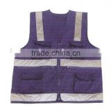 high visibility waistcoat/safety garment/reflective cotton clothing/high visibility waistcoat