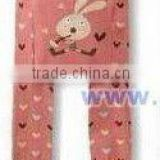 baby footless tights with rabbit on the back