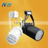 ShenZhen CE ROHS LED track light adjustable angle slideable LED track light