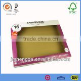 High Quality Made in China Custom Printed Corrugated cardboard gift boxes with clear window