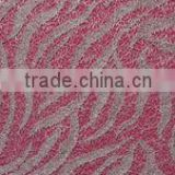 Water Wave Sliver Embroidery Lace Fabric