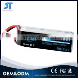 11.1V 5200mAh High Power 3S 70C Lipo Battery lifepo4 batteries for RC Helicopter Airplane RC Hobby with Dean XT Style Connector                                                                         Quality Choice