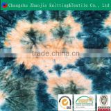 China manufacturer custom tie dye fabric manufacture 4 way stretch swimwear lycra fabricZJ016