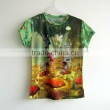 All Over Dye-Sublimated 100% Polyester T-shirts / 50-50 Polyester Cotton T-shirts at BERG
