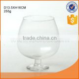 wholesale round clear glass fish bowl