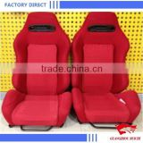 Factory Direct Red Racing Game Seat Universal Adult Racing Car Seat