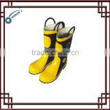 fireman CE boots rubber boots yellow boots fire resistant boots safety protective boots