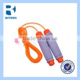 Wire Cord Counting Jump Rope Adjustable Rope Skipping With Counter Personal Fitness