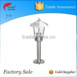garden light led stainless steel bollard
