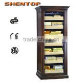 Europa Style Cigar humidor STH-D1500 humidifier antique cigar cabinet 328 L with 800-1000pcs wooden humidor cabinet