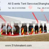 30M Span Large Event Tent with Aluminium Frame and PVC Fabric, Large Tent For Wedding TTent And Exhibition Tent