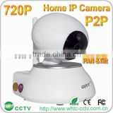 P2P 720P IP Cams two way Audio IR Night Vision home video surveillance small wireless camera
