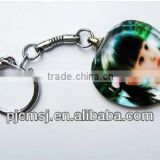 Crystal Keychain for baby gift & souvenirs customized crystal photo keychain