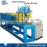 Hydraulic Cutting Metal Roller Shutter Slats Roofing Roll Forming Machine With Punching Machine