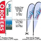 teardrop flag banner with1 Cross Water Bag Base free standing flag poles