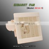 4, 5, 6, 8 inch Portable wall mounted exhaust fan bathroom with good quality ABS material HC12-5