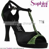 Black /White /Blue /Ssilver Dress Party Evening Shoes Customs Green Evening Shoes