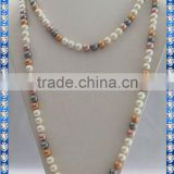 Very Nice Quality 10mm Sea Shell Pearl Necklace SSN008