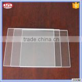 Heat Resistant transparent UV quartz glass plate