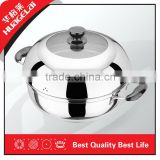 Stainless Steel Large Rice Cooker Enamel Steam Pot Set Enamel Pasta Pot