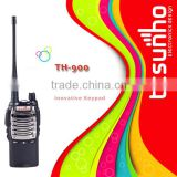China high tech police handheld two way radio with Lamp TH-900 walkie talkie
