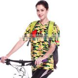 2016 men's cycling wear breathable T shirt sports clothes high quality Summer Short Jersey