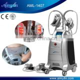 Vacuum Cryolipolysis Fat Removal Local Fat Removal Beauty Machine With Antifreeze Membrane Increasing Muscle Tone