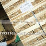 Acacia KD S4S Sawn timber/Lumber