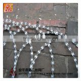 Wholesale Concertina Razor Barbed Wire Fence Price/Concertina Razor Barbed Wire Used As Fence/Hot Dipped Galvanized Razor Wire