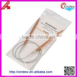 High Quality Bamboo Circular Knitting Needles With Steel Wire