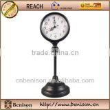 2013 new design antique mental table clock