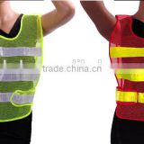 Best Sale Red/Yellow High Visibility Reflective Conspicuity Vest Warning Safety Working Clothes