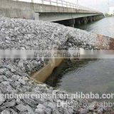 riverbed protection and slope protection used PVC Coated Gabion Mesh