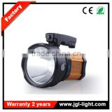 rechargeable outdoor high power searchlight5JG-A398 maintenance work light with handle and side warning light