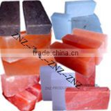 Himalayan rock salt bricks and tiles