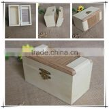 Handmade art mind decor wooden essential oil packing boxes