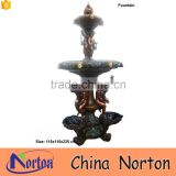 Large outdoor casting bronze/brass garden antique fountain NTBF-L475A