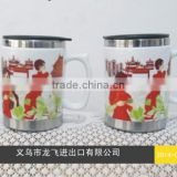 2015 hot sell cheap high quality Advertising customized Logo Ceramic Mugs Cup