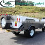 Adventure Off Road Rear Folding Campers Powder Material Trailers