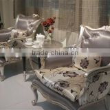 Luxury simple design style chairs sets,chairs & tea table, hand made and can be customized--BG90438 MOQ:1 SET